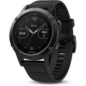 Garmin Fenix 5 Sapphire GPS Smartwatch + yellow Band